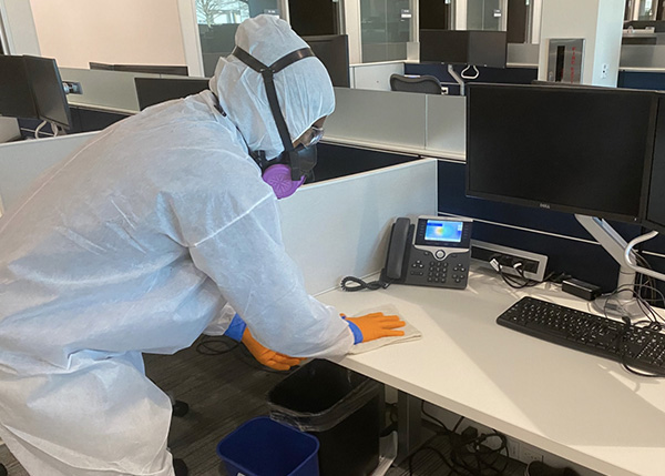 Sanitizing Working Place