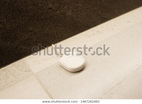 Anti-flooding Sensor on White Floor
